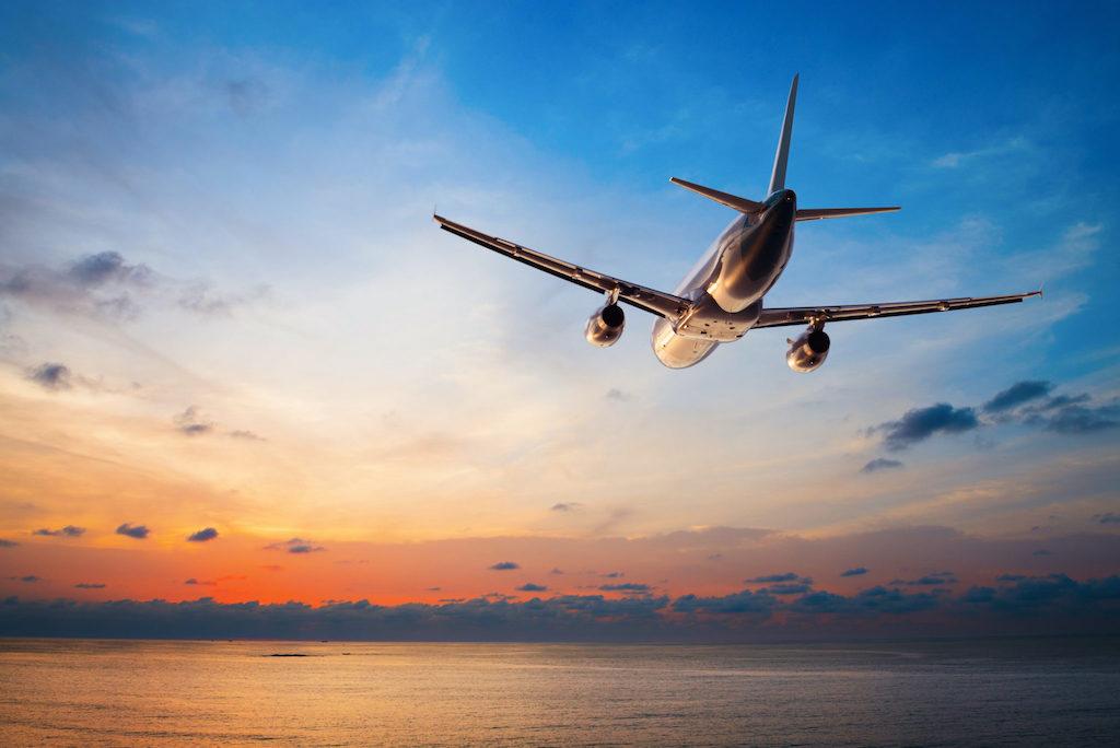 avion départ pour un nouveau voyage