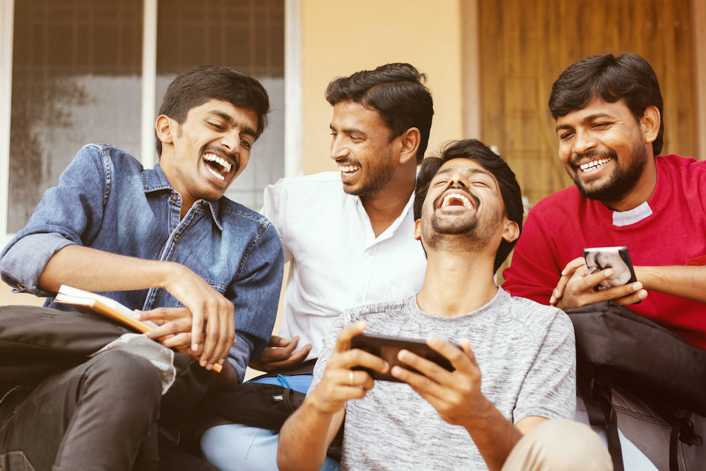 la nouvelle générations d'Indiens