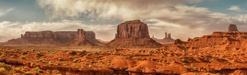 monument valley paysage de americain