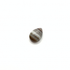 Agate du Botswana 14x10x5mm