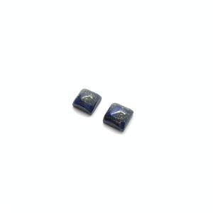 Lapis-Lazuli (Paire) 10x10xmm