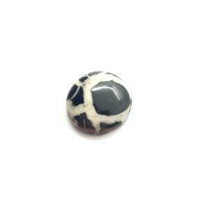 Septaria Noire 23x23x6mm