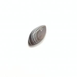 Agate du Botswana 20x10x5mm
