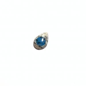 Jaspe K2 (Azurite sur Granite) 22.5x15x6mm