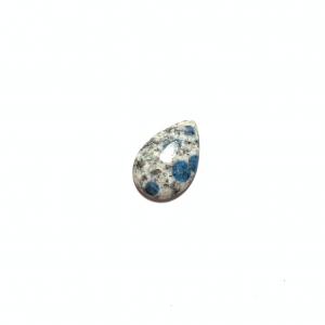 Jaspe K2 (Azurite sur Granite) 26.5x17x4mm