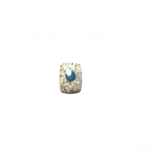 Jaspe K2 (Azurite sur Granite) 26×19.5×4.5mm