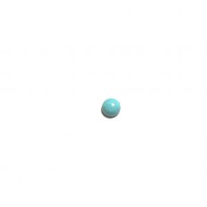 Turquoise de l'Arizona calibrée 8x8x4mm