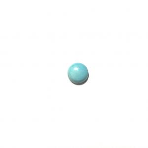 Turquoise de l'Arizona calibrée 8x8x3mm