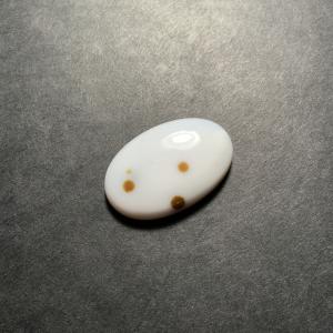 Agate Polka Dots 31x20x6mm