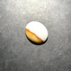 Agate Polka Dots 25x20x6mm