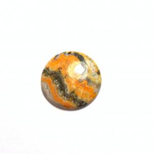 Jaspe Bumble Bee 30x30x4.5mm