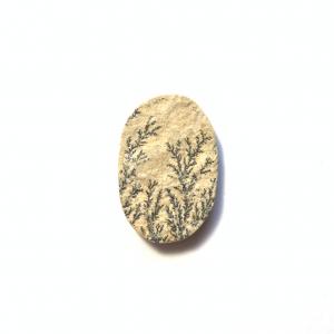 Psilomélane sur Calcaire 29x19x4mm