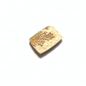 Psilomélane sur Calcaire 28x20x4mm