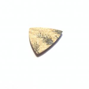 Psilomélane sur Calcaire 32.5×27.5×3.5mm