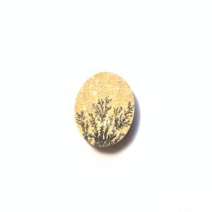 Psilomélane sur Calcaire 26x21x5mm